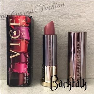 😍 2/$20 Urban Decay Vice Lipstick in Backtalk